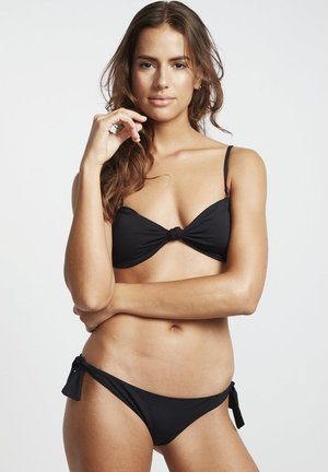 TANGA - Bikini bottoms - black pebble