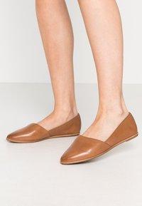 ALDO Wide Fit - BLANCHETTE - Slip-ons - medium brown - 0