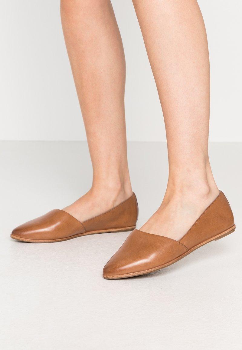 ALDO Wide Fit - BLANCHETTE - Slip-ons - medium brown