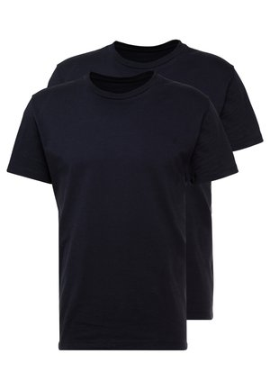 2 PACK - Basic T-shirt - navy