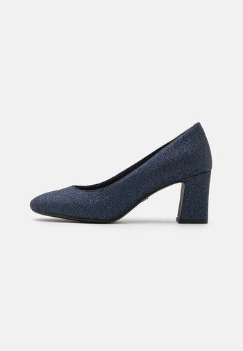 COURT SHOE - Classic heels - navy glam