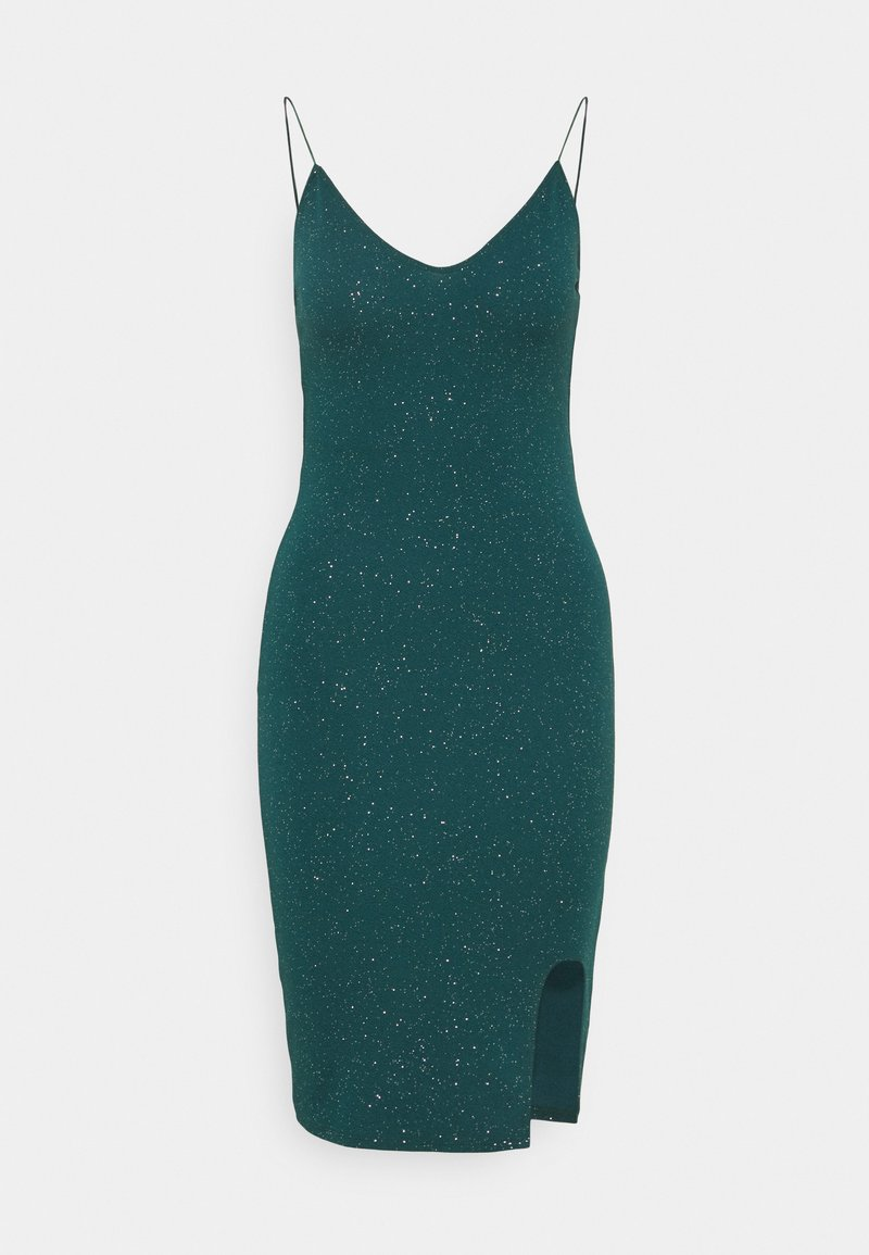 Nly by Nelly - BOMBSHELL SPARKLE DRESS - Cocktailkjole - green