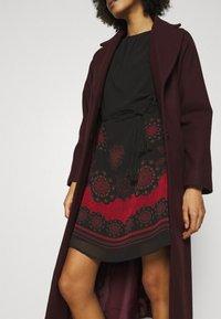 Desigual - VEST TAMPA - Day dress - black - 3