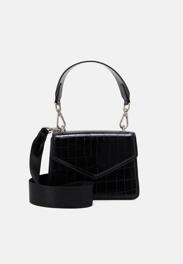 SOLID KELLIY BAG - Handbag - black