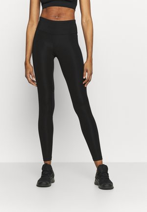 EPIC FAST - Leggings - black/silver