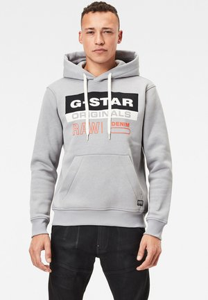 COLOR BLOCK ORIGINALS - Hoodie - steel grey