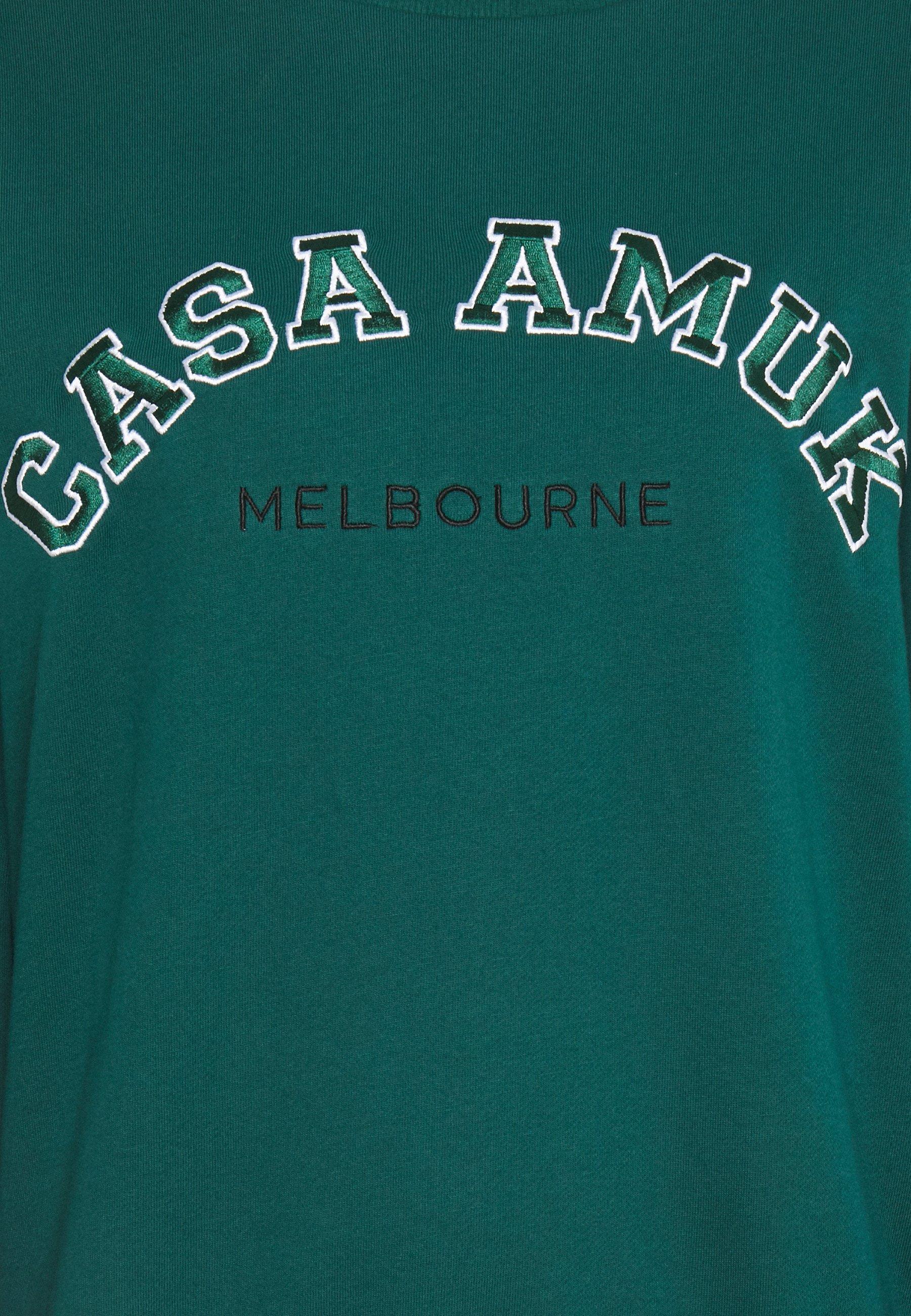 Casa Amuk VARSITY JUMPER - Sweatshirt - pine green GlIg7