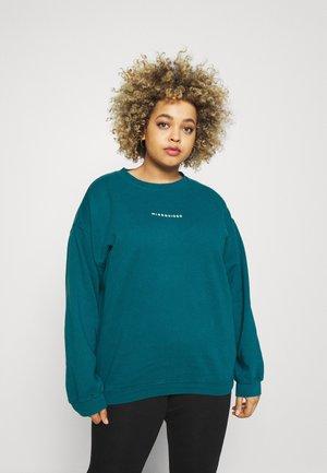 WASHED BASIC  - Sweatshirt - blue