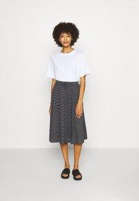 Opus - RENITA - A-line skirt - black - 1