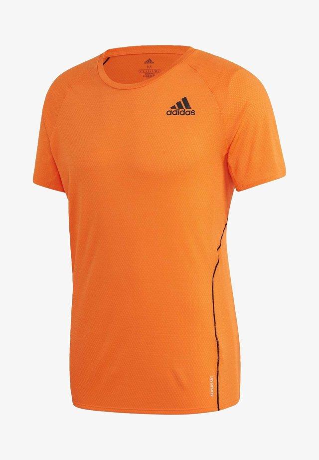 RUNNER T-SHIRT - T-shirt imprimé - orange