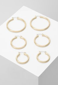 Pieces - PCSELINDA EARRINGS 3 PACK - Náušnice - gold-coloured - 0