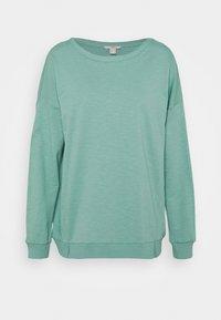 edc by Esprit - SLUB TERRY - Sweatshirt - dusty green - 0