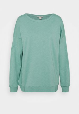 SLUB TERRY - Sweatshirt - dusty green