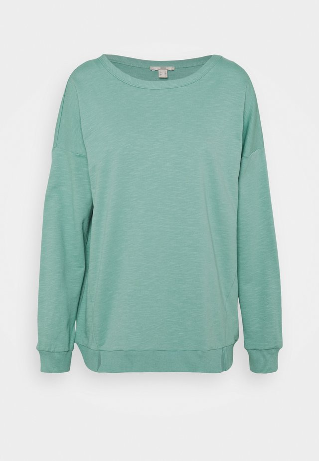 SLUB TERRY - Bluza - dusty green