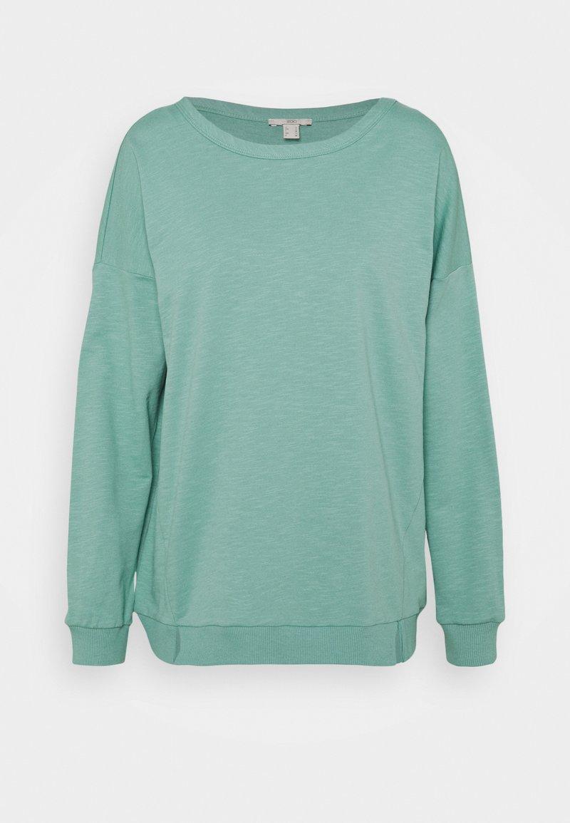 edc by Esprit - SLUB TERRY - Sweatshirt - dusty green