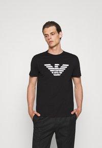 Emporio Armani - Print T-shirt - nero - 0