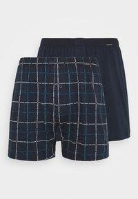 Schiesser - 2 PACK  - Boxer shorts - dark blue - 3