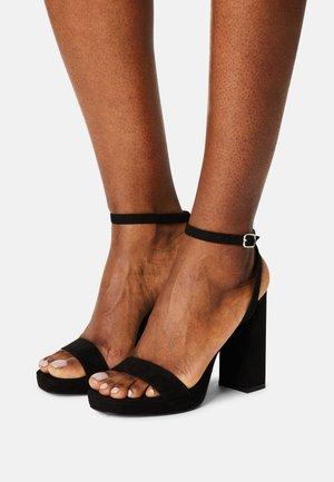 DANCERR - Sandaler med høye hæler - black