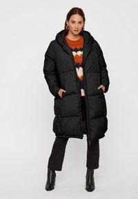 YAS - YASMILLYS JACKET - Down coat - black - 0
