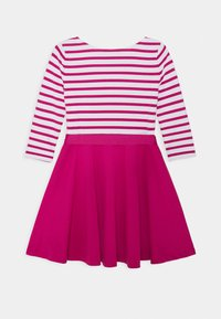 Polo Ralph Lauren - STRIPE SOLID DRESSES - Žerzejové šaty - college pink/white - 1