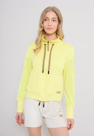 MARRAKECH - Zip-up sweatshirt - gelb