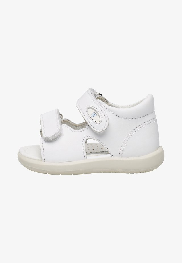 NEW RIVER - Baby shoes - weiß