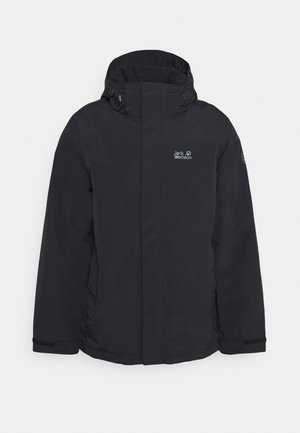 THREE PEAKS  - Waterproof jacket - black