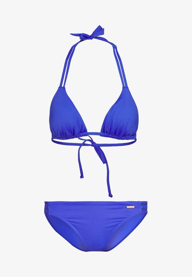 Bikinit - blue solid