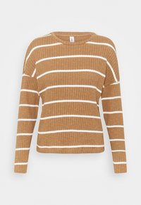 ONLY - ONLCARLA TOP - Jumper - toasted coconut/cloud dancer - 0