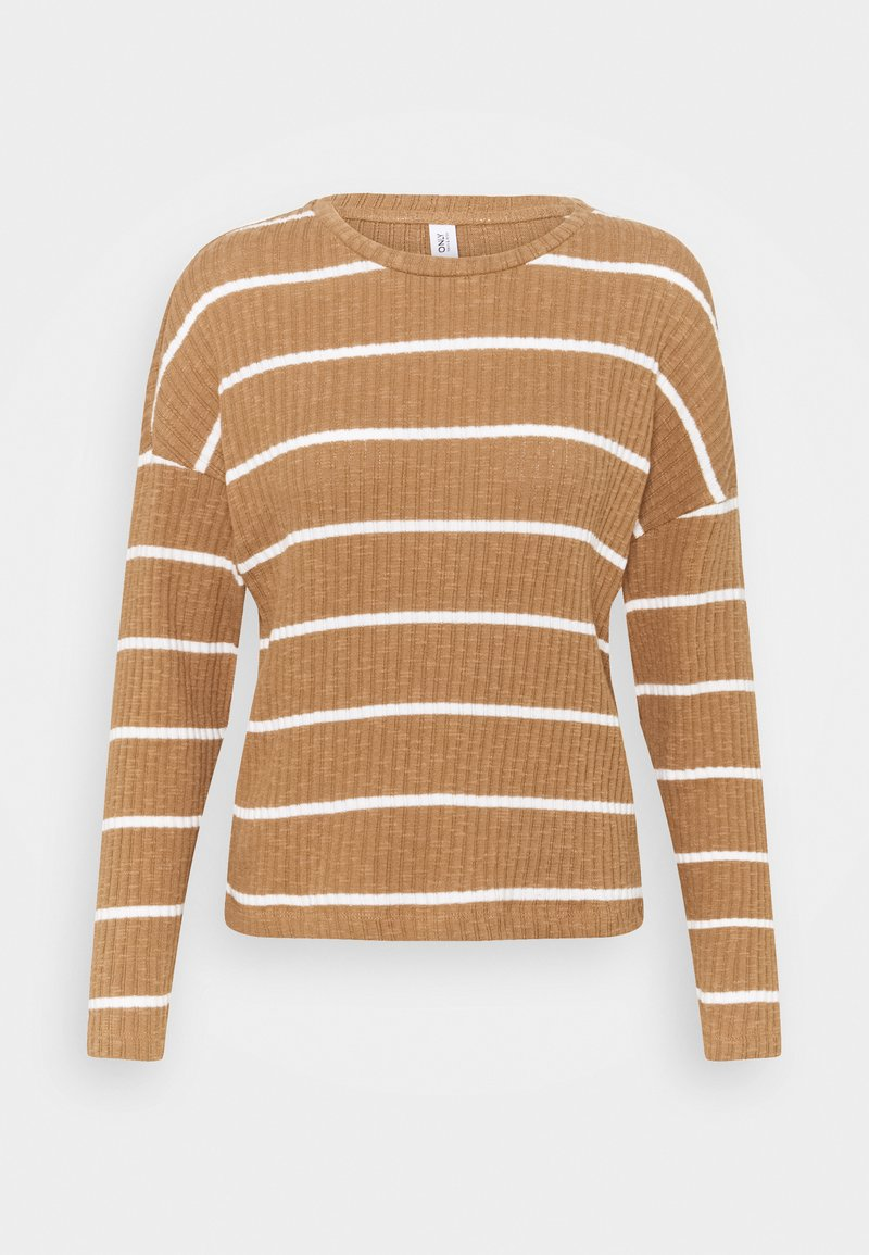 ONLY - ONLCARLA TOP - Jumper - toasted coconut/cloud dancer