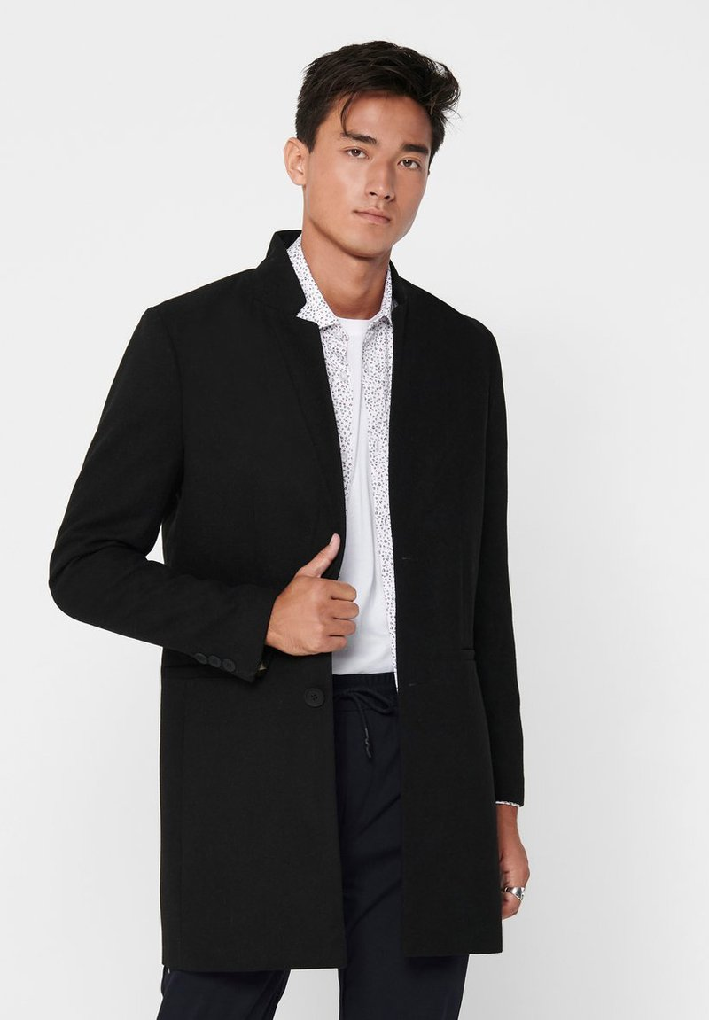 Only & Sons - Manteau court - black