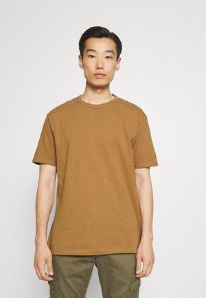 BOXY - T-shirt basic - tan