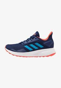 adidas Performance - DURAMO 9 - Laufschuh Neutral - dark blue/shock cyan/active orange - 1