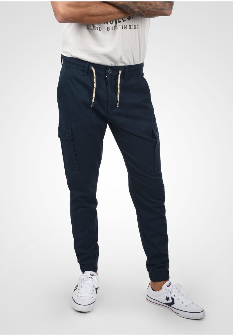 Blend - Cargo trousers - navy