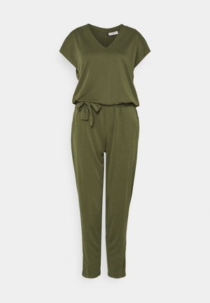 Jumpsuit - burnt olive