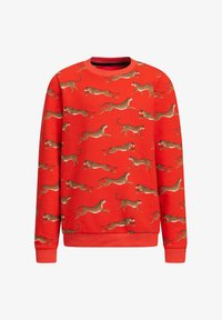 WE Fashion - MET LUIPAARDPRINT - Sweatshirt - orange - 0