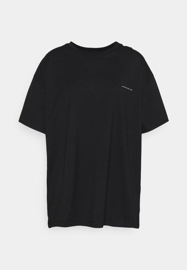 PAINTED SHORT SLEEVE - Print T-shirt - black