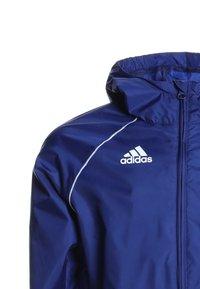 adidas Performance - CORE ELEVEN FOOTBALL JACKET - Hardshell jacket - dkblue/white - 2