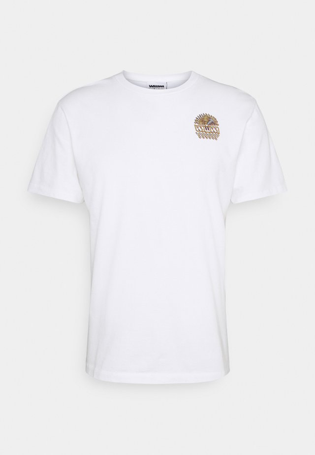UNISEX SUNSPOTS - T-shirt con stampa - white