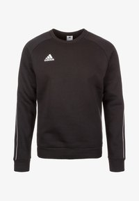 adidas Performance - CORE ELEVEN FOOTBALL LONG SLEEVE PULLOVER - Sudadera - black - 0
