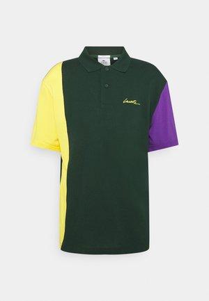 UNISEX - Polo shirt - sinople/genet/lavande