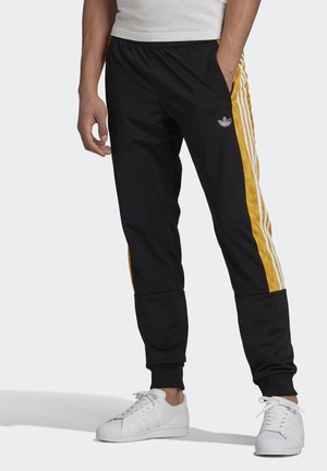 BX-20 GRAPHIC TRACKSUIT BOTTOMS - Tracksuit bottoms - black
