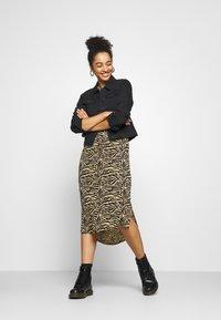 Soaked in Luxury - ZAYA DRESS - Day dress - beige - 1