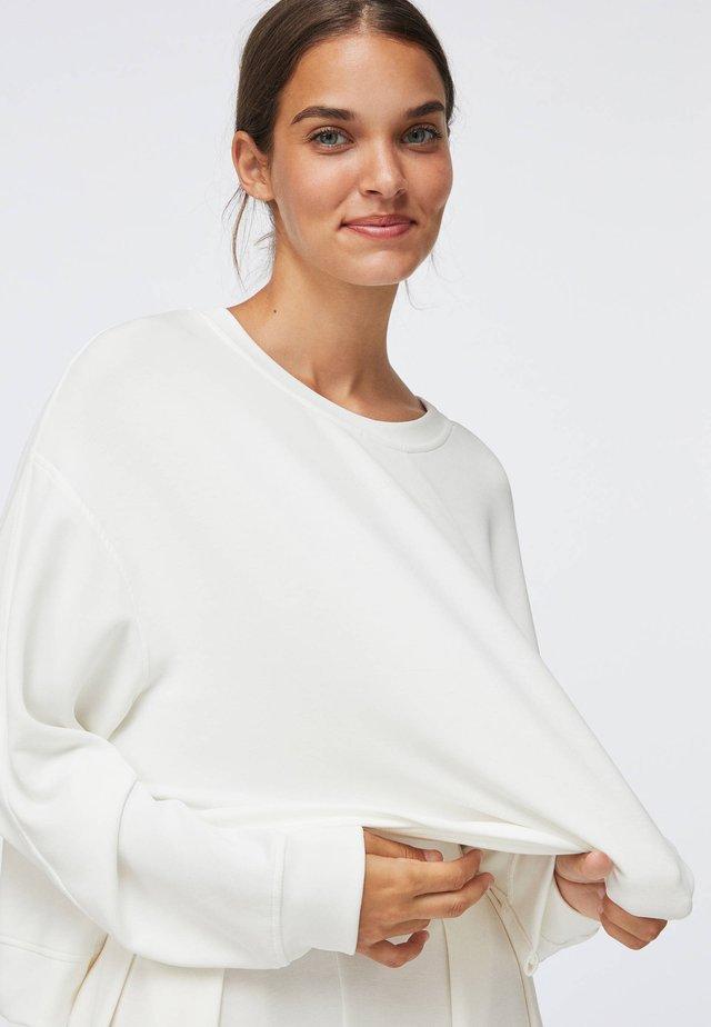 SLOGAN - Sweatshirt - white