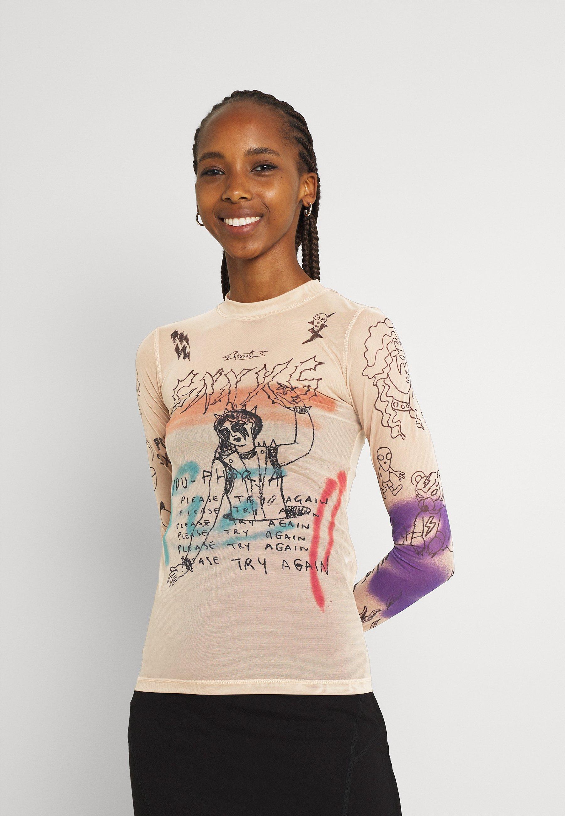 Women T-SIELY - Long sleeved top