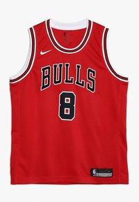 Nike Performance - NBA CHICAGO BULLS ZACH LAVINE ICON SWINGMAN - Klubové oblečení - red - 0