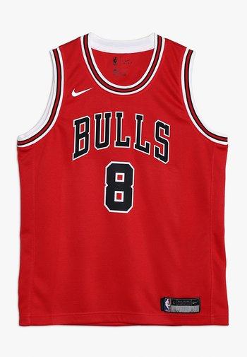 NBA CHICAGO BULLS ZACH LAVINE ICON SWINGMAN - Club wear - red