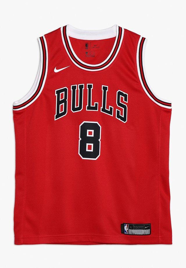 NBA CHICAGO BULLS ZACH LAVINE ICON SWINGMAN - Fanartikel - red