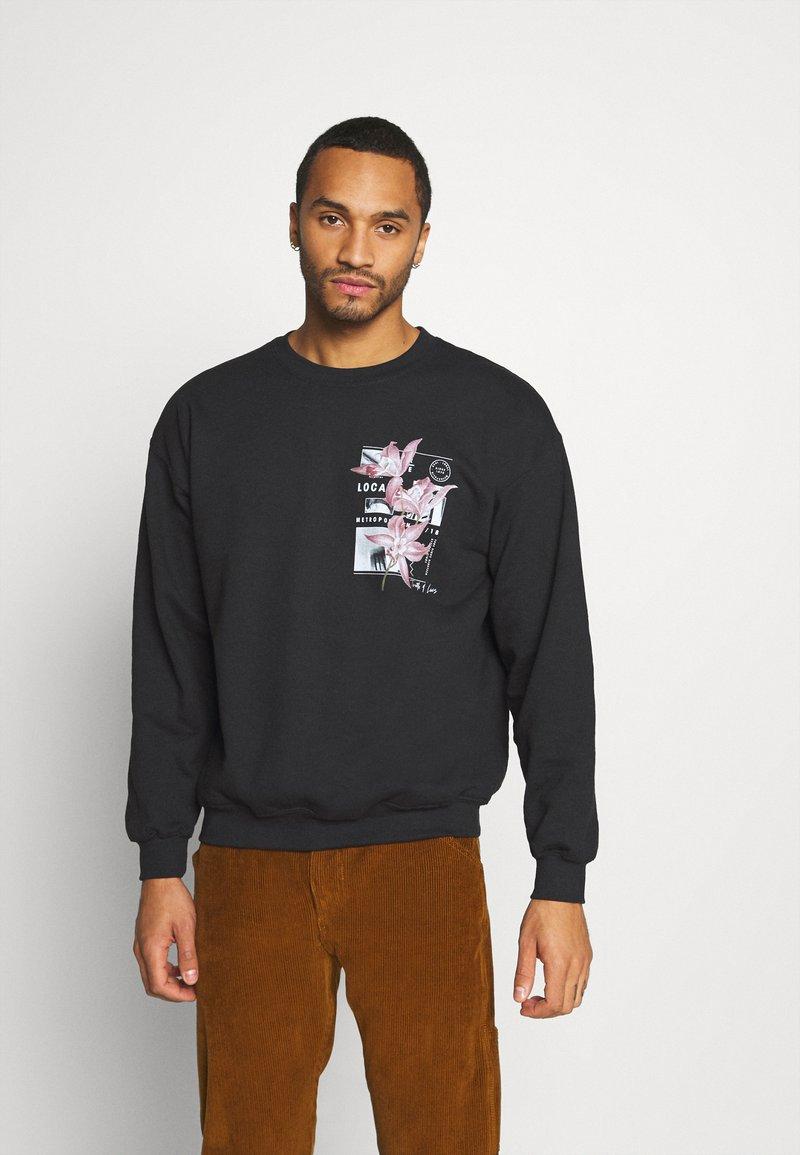 Topman - Sweatshirt - black