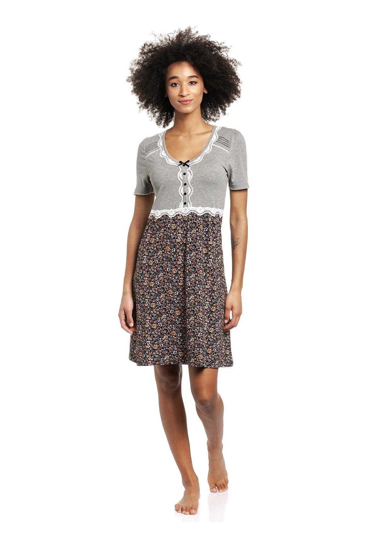Damen SPORTY FLOWER  - Nachthemd